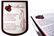 placheta martisor personalizata Pretext Advertising